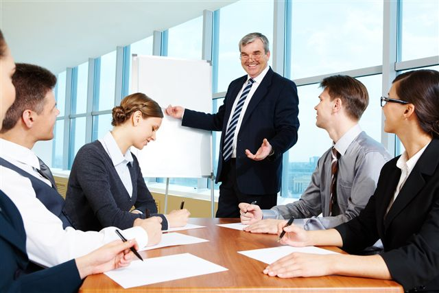 Succesvolle Directeur en zijn Team